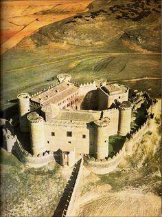 Vista aérea del Castillo de Belmonte