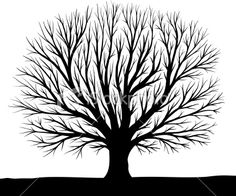 tree silhouette clipart 15 380x317