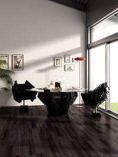 Design of home decoration «Shape the Future of Black», 2014 - AnARCHI, Anna Lopatkina