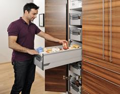Pantry drawers - Blum