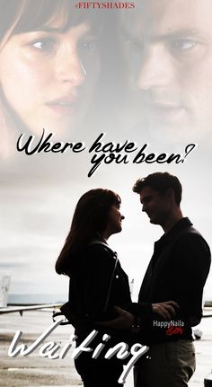 "worldofchristiangrey: ""happynaila: ""Where have you been? "" Perfect!!!! ""Jamie Dornan and Dakota Johnson Fifty shades of grey movie"