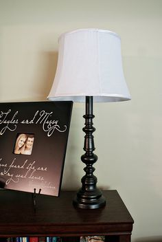 Oil Rubbed Bronze lamp makeover-same lamp i remade to distressed ...