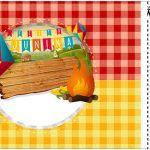 Convite Ingresso Festa Junina