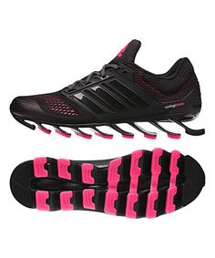 Take a look at this Black & So Pink Springblade Drive Running Shoe on zulily today!