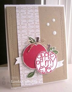 Apple of my Eye by abbysmom2198 - Cards and Paper Crafts at Splitcoaststampers
