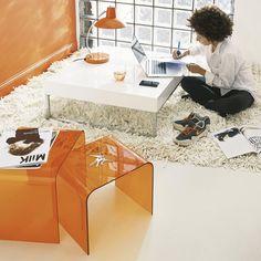 Beistelltische Orange Columbia bei Maison du Monde für 79,90 EUR