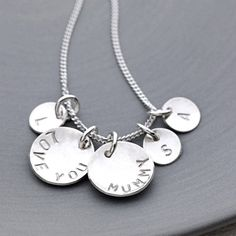 Her Story Sterling Silver Necklace from notonthehighstreet.com