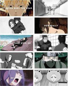 We never bury the dead. Its the price of living. Anime Naruto, Naruto Facts, Naruto Comic, Naruto Sasuke Sakura, Naruto Shippuden Anime, Itachi Uchiha, Naruto And Sasuke, Boruto, Anime Manga