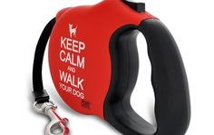 """The phrase """"Keep Calm and (insert phrase here"""" is being used EVERYWHERE, How about Keep Calm and Walk Your Dog! Keeping it stylish :)"""