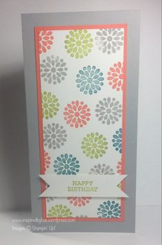 Stampin' Up! Mixed Bunch Background