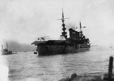 January 18, 1911 - First aircraft landing on board a ship, USS Pennsylvania (ACR-4) by Eugene Ely in San Francisco Bay