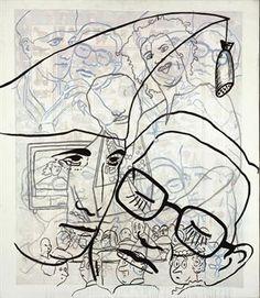 sigmar polke - Google Search Sigmar Polke, nasceu a 1943 e morreu na Alemanha em 2010. Fez pintura, fotografia, vidro, filme, desenho, impressão, televisão e performance. Experimentou uma extensa gama de estilos e materiais. Períodos - Arte contemporânea e Pop Art