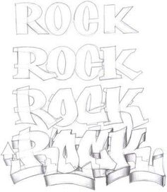 How To Draw Graffiti Letters For Beginners Step By Step