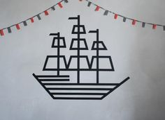 ...but your decorations are only limited by your imagination. Try this pirate ship on for size.