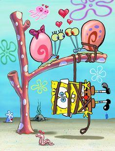 #Spongebob #gary #love