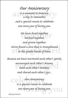 anniversary note