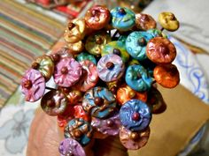 Art Jewelry Elements: Saturday Share - Polymer Clay Headpins