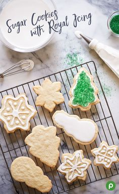 Love to make your Christmas cookies a little more personal? Decorations are a great way to show your cookies were made with love and care. Try our recipe for Sugar Cookies with Royal Icing to start, then add your favorite designs and cookie toppings like sprinkles, nonpareils, chocolate chips—any toppings you like.