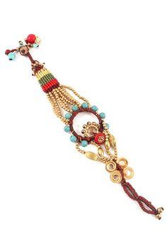 Dream Catcher Bracelet in Turquoise