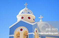 Greek Church of Saint Stylianos, Fira to Firostefani path, Santorini (Thira)…