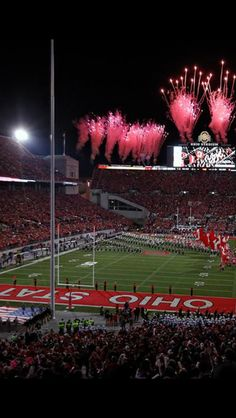 Ohio state. home<3 I was at this game!!