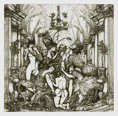 Scourger - Ghost Infestissumam artwork: Zbigniew M. Bielak