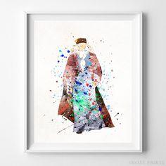 Dumbledore Harry Potter Watercolor Poster Home Decor Dorm Decor Print UNFRAMED - Click photo for details - Home Decor Potter, Art Prints, Watercolor Wall Art, Free Prints, Artwork, Watercolor Artwork, Harry Potter Watercolor