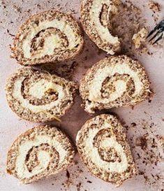Juustokakkukääretorttu on uusi klassikko – tähän ihastut! Deli, No Bake Cake, Cheesecake, Muffin, Bread, Cookies, Baking, Breakfast, Desserts