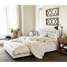 Phoebe Tufted King Bed