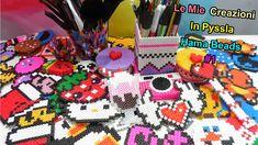 "♥ Le Mie Creazioni In Pyssla (Hama Beads)""My perler/Hama Bead creations""..."