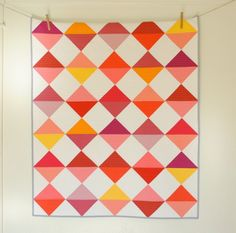 Get Cozy! 21 Modern Quilts You'll Love via Brit + Co.