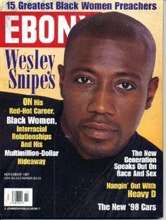 Photographic Print: Ebony Novmeber 1997 Poster by Vandell Cobb : Jet Magazine, Black Magazine, Life Magazine, Ebony Magazine Cover, Magazine Front Cover, Magazine Covers, Black Actors, Hot Actors, Black Actresses