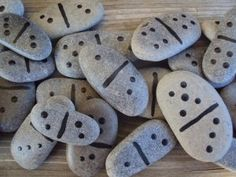 Stone and Rock Crafts for Kids - Happy Hooligans Outdoor Learning, Outdoor Games, Outdoor Play, Outdoor Ideas, Backyard Ideas, Rock Crafts, Arts And Crafts, Craft Projects, Crafts For Kids