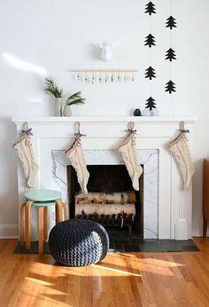 Eye-Catching Scandinavian Christmas Decorating Ideas For You Home | Christmas Celebrations