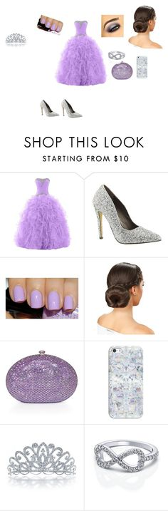 """""""purple shine"""" by jade0106 ❤ liked on Polyvore featuring Michael Antonio, Casetify and Bling Jewelry"""