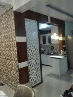 Wooden Partition Design, Glass Partition Designs, Living Room Partition Design, Pooja Room Door Design, Bedroom Cupboard Designs, Bedroom Closet Design, Kitchen Room Design, Modern Kitchen Design, Drawing Room Furniture