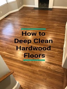 In this article, I explain step-by-step how to deep clean hardwood floors. Plus, I teach you how to avoid common cleaning mistakes, how often your floors need cleaning, and how to prevent stains in the first place. Cleaning Laminate Wood Floors, Old Wood Floors, Clean Hardwood Floors, Refinishing Hardwood Floors, Solid Wood Flooring, How To Clean Floors, Wood Floor Cleaning, Hardwood Floor Care, Hardwood Floor Cleaner