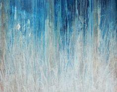 Arte abstracto ORIGINAL de acrílico - pintura Hannah Friel-