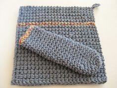 Crochet Hot Pad Set-Crocheted Pot Holder by RoseJasmine on Etsy