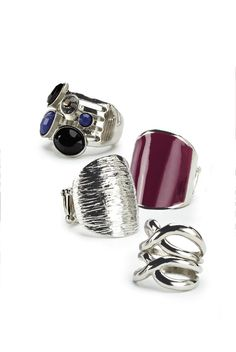 Put a ring on it! / À chacun sa bague! #Reitmans #Rings #Bagues #Jewelry #Jewellery #Bijoux #Silver #Argent #Beautiful #Hot #Trendy #Style #Colour #Color #Colourful #Colorful