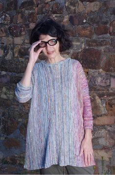On top of the mountain, down by the sea 3d Fashion, Knitwear, My Design, Mountain, Sea, Fabric, Tops, Tejido, Tricot