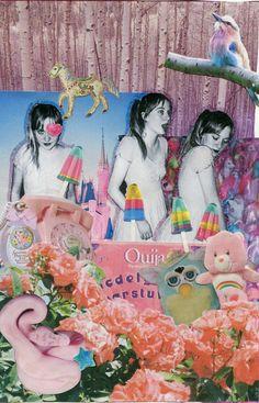 art zine, collage on identity, a self portrait. Collages, Collage Art, Rookie Magazine, Kitsch, Soft Grunge, Tableau Design, Photocollage, Art Plastique, Steam Punk