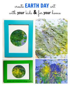 Earth Day Art Activity for Kids & the Home