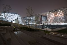 AS architecture-studio completes jinan regional cultural center - designboom | architecture