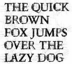 Typografie by Daniel Adolph