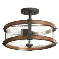 http://m.lowes.com/pd/Kichler-Lighting-Barrington-14-02-in-W-Distressed-Black-and-Wood-Clear-Glass-Semi-Flush-Mount-Light/50356094