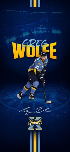 Wallpaper of Toledo Walleye player Greg Wolf. Toledo Walleye, Wolf, Wallpaper, Movie Posters, Movies, Films, Wallpapers, Film Poster, Wolves