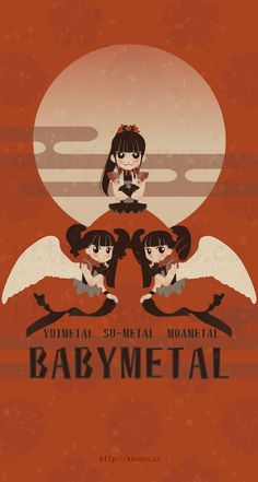 kinuyo-iwata: BABYMETAL 2014 http://kinuyo.cc http://pixiv.me/kinu