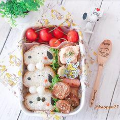 おはようございます(*ˊૢᵕˋૢ*) 今日のお弁当は〜 #スヌーピー の#おいなりさん お弁当です♡ 昨日届いた#さくらんぼ もたくさんつめました🍒 今日も暑くなりそうなので、少しでも快適にすごせますように〜💧 . それでは皆様今日も楽しい一日をお過ごしください(๑ˇεˇ๑)•*¨*•.¸¸♪ . . . #手作り#キャラフード#キャラ弁#おうちごはん#クッキングラム#デリスタグラマー#ママリ#lin_stagrammer #instafood #characterfood #cutefood #kyaraben #kyarafood #kawaiifood #funfood #fooddeco #foodart #decofood #delimia #lunch #bento #お弁当#弁当#ランチ