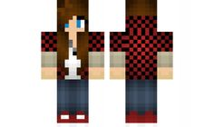 minecraft skin girl-lllll Find it with our new Android Minecraft Skins App: https://play.google.com/store/apps/details?id=the.gecko.girlskins